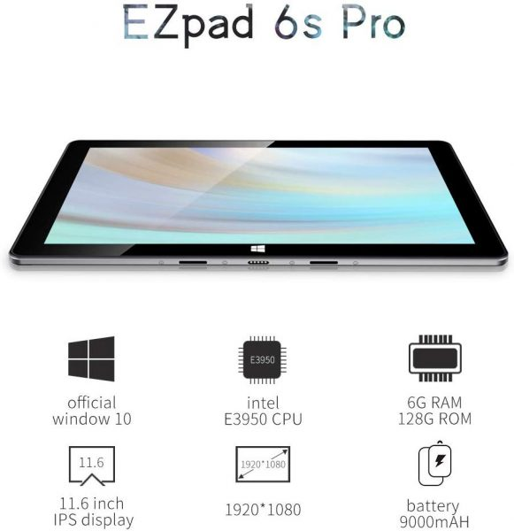 Jumper's EZpad 6S Pro is affordable & functional