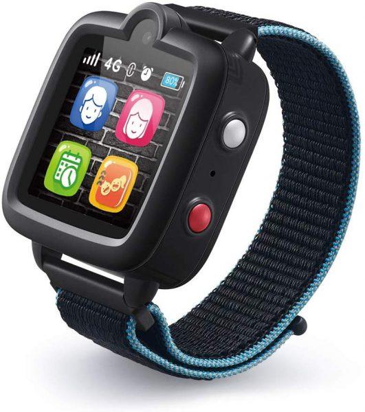 Black TickTalk kids smartwatch.