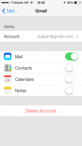 How To Sync iPhone Contacts With Gmail
