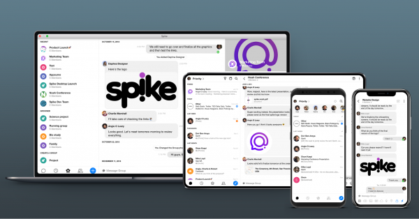 Photo of Spike across different platforms like Mac, Android, and iOS