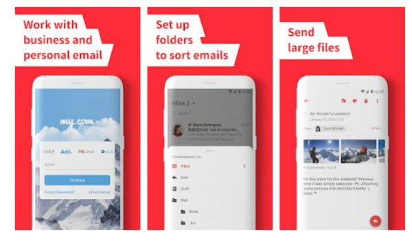 a photo of myMail