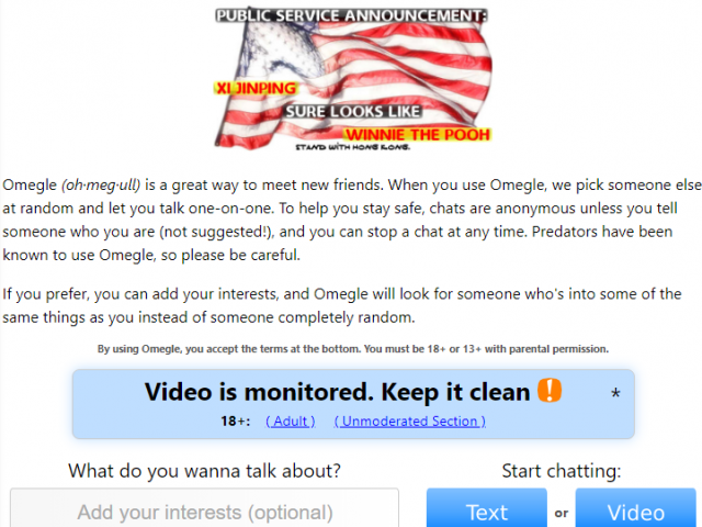 Best interests to find girls on omegle