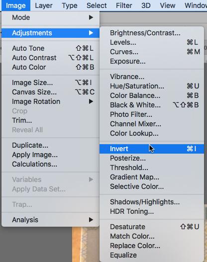 Adobe Lightroom Invert Mask