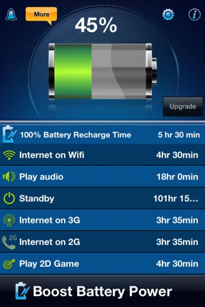 Battery Monitor Magic XP