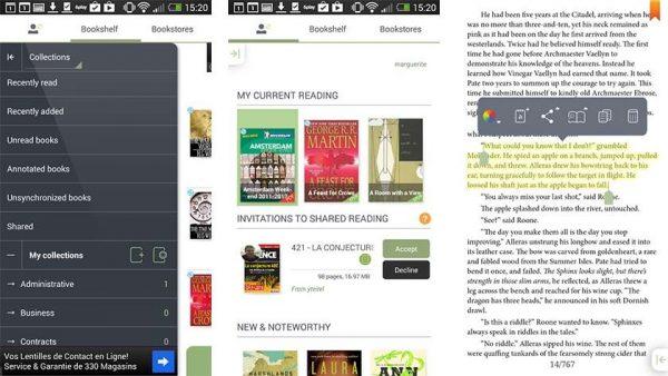 Bookari Ebook Reader