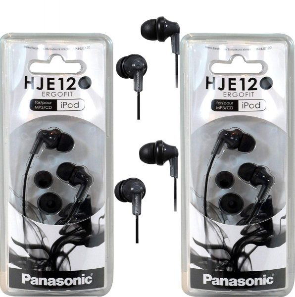 Panasonic's JHE120 is a good choice if you're looking for cheap headphones.