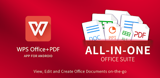 You can download a WPS Office APK that has the features of the official copy
