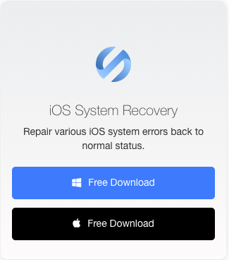 dwonload iOS System Recovery for free
