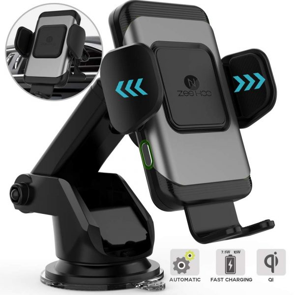 ZeeHoo Auto-Clamping Wireless Car Charger