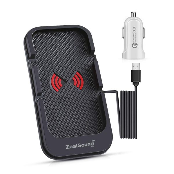 ZealSound Fast Wireless Charge Slim Pad Station Dock