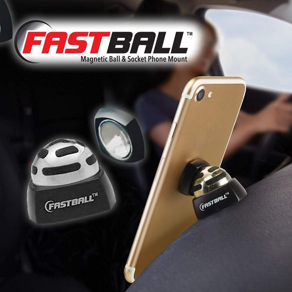 The Fastball Magnetic Car Mount is the convenient choice.