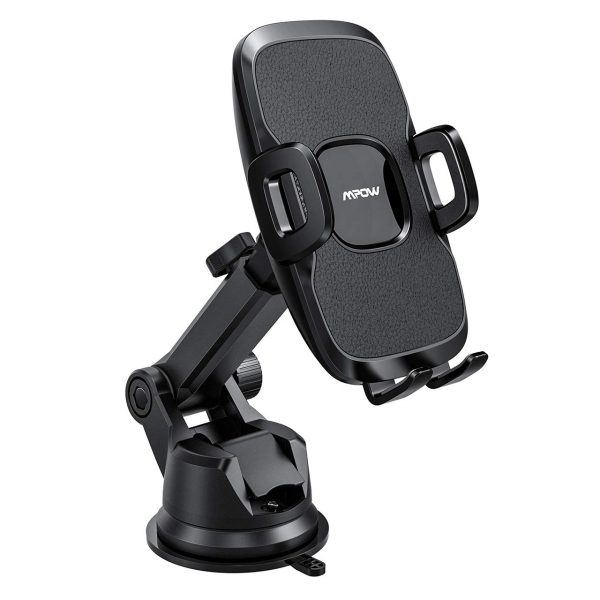 The Mpow Car Phone Holder is durable and sturdy.