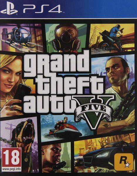 GTA V PS4 Game