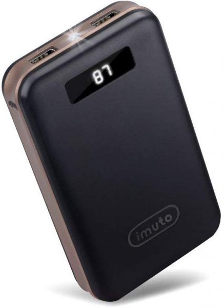iMuto Power Bank in black