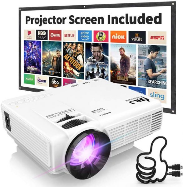 The DR. J Professional HI-04 palmtop projector