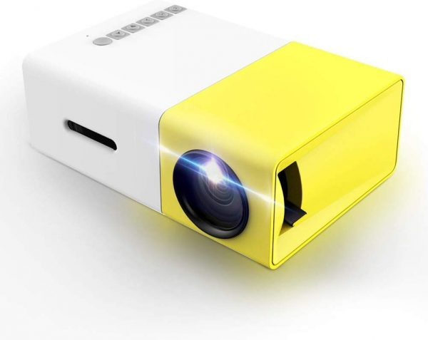 The LoongSon Smartphone Pocket Projector is fashionable and functional