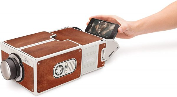 The Luckies Smartphone Projector 2.0 for that DIY feel