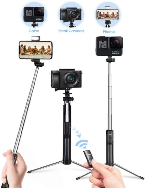 Take selfies and videos with stability with this product