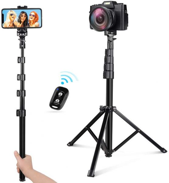This product can be adjusted up to 54 inches which will help you large group photos.