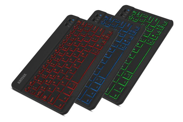 Arteck HB030B Universal Slim Portable Wireless Keyboard