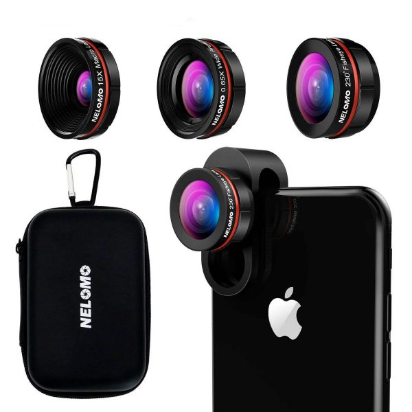 3 in 1 lens kit for mobile phone