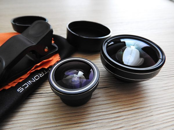 lens kit on table