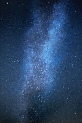 02 bright blue galaxy wallpaper