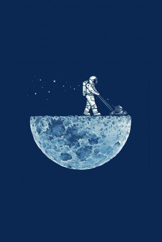Download Man Over The Moon Wallpaper Cellularnews