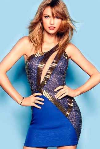 Download Taylor Swift Wallpaper Be Swept In Blue Cellularnews