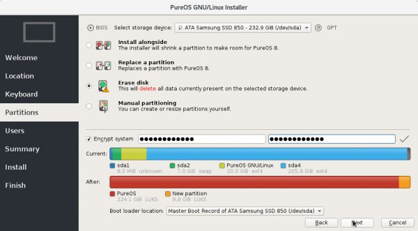 Step 5 How to Install PureOS