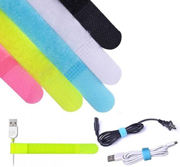 Reusable cord organizer