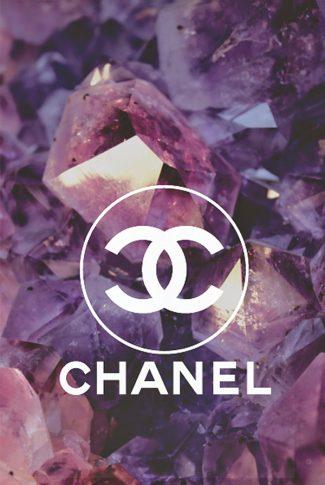 Download Sparkling Chanel Logo Wallpaper Cellularnews
