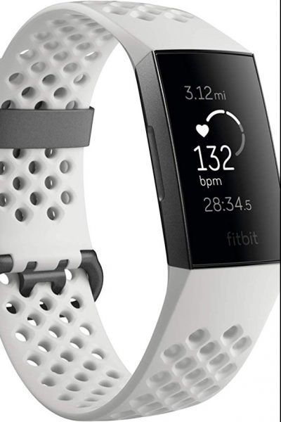 Fitbit Charge 3 Fitness Tracker in white