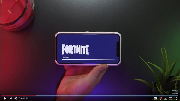 Steady Fortnite blue screen