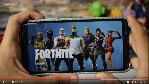 The launch of Fortnite