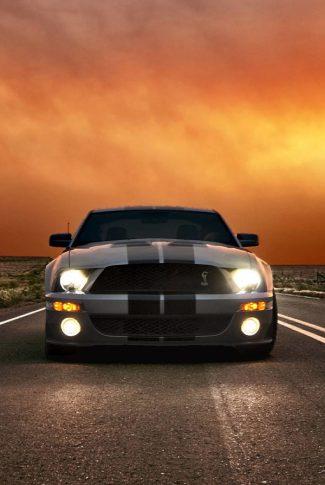 Download Gray Mustang Car Wallpaper Cellularnews