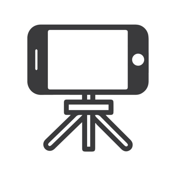 Cell Phone tripod icon