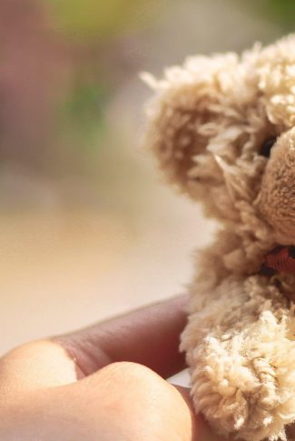 This cute little brown teddy bear is adorable to hug. It can be your comfort friend.