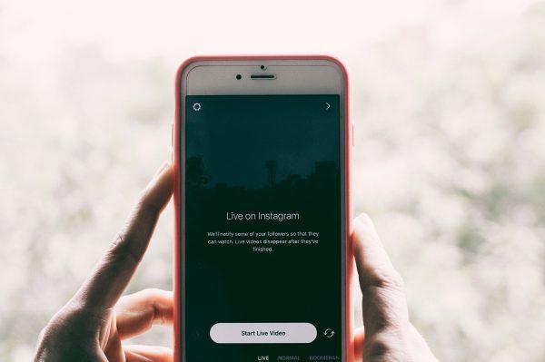 Instagram直播