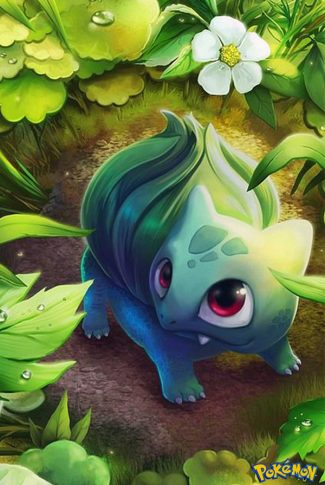 Download Cute Bulbasaur Art Wallpaper | CellularNews
