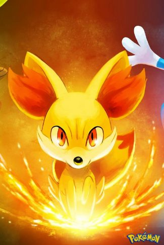 Cool and smooth, nice anime art of this cute fire Pokemon!