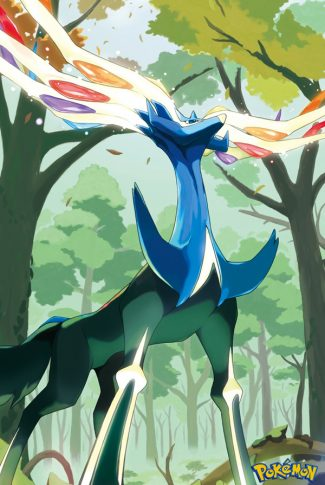 Majestic and amazing, beautiful anime art of this huge legendary Pokemon!