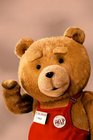 Do you know Ted from the movie? A teddy bear that was moving and acting like a human being. Well, he is now working.
