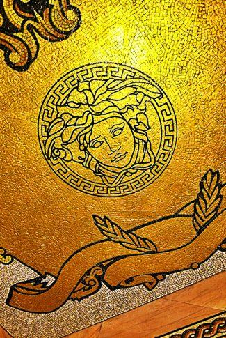 Download Versace Gold Ceiling Art Wallpaper Cellularnews