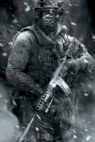Download Call Of Duty Black White Portrait Wallpaper Cellularnews