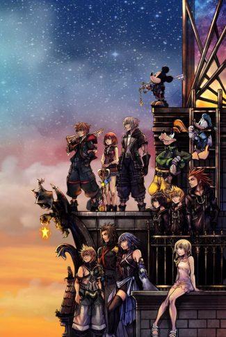Download Kingdom Hearts 3 Poster Wallpaper Cellularnews