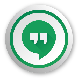 Hangouts chat app