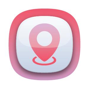 GPS navigation app