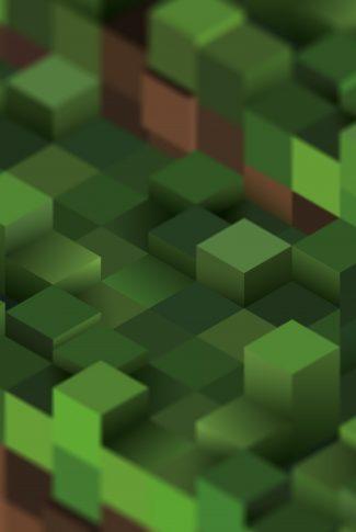 Download Minecraft in Green Pixels