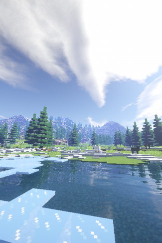 download minecraft icy lake wallpaper cellularnews download minecraft icy lake wallpaper